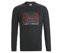 RISE UP Langarmshirt black/graphit/red