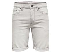 Jeans Shorts - light grey denim