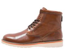 STIRLING - Schnürstiefelette - saddle brown