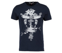 AMIRAL TShirt print navy