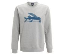 FLYING FISH Sweatshirt feather grey
