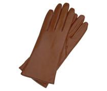 KLASSIKER COLOUR - Fingerhandschuh - saddlebrown