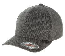 HERINGBONE MELANGE  - Cap - black/grey