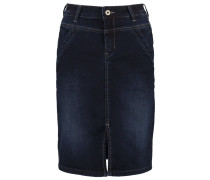 MADISONNE - Jeansrock - dark rich blue denim