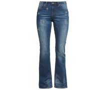 DIANA Jeans Bootcut used blue denim