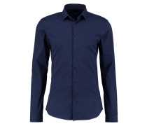 SKINNY FIT - Hemd - navy blue