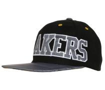 LAKERS Cap black/white/cogold