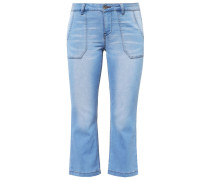 CAROL Flared Jeans light blue denim