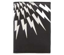 Visitenkarten-Etui - black/white