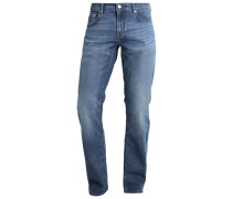 JACK - Jeans Straight Leg - washed mid blue