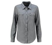 REGULAR WESTERN Hemdbluse grey