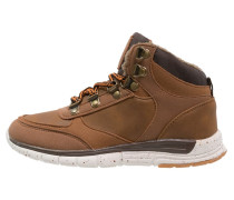 Sneaker high dark brown