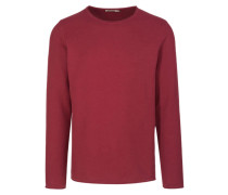 DAVIDE Strickpullover russet red
