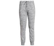 Jogginghose space dye grey marl