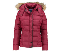 MINKO Winterjacke bordeaux
