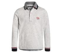 Poloshirt gris chiné moyen