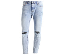 SANTAL Jeans Slim Fit mid blue