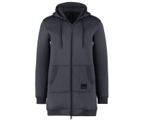 Sweatjacke dark grey melange