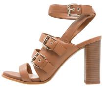 PEPPER - High Heel Sandaletten - caramel