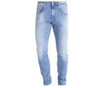 ANBASS - Jeans Slim Fit - light-blue denim