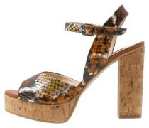 ELENA High Heel Sandaletten brown