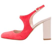 High Heel Pumps coral/rose