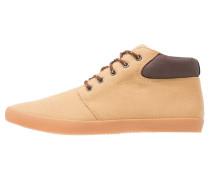 Sneaker high camel