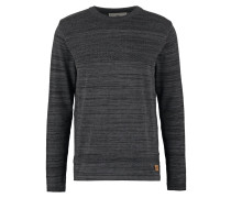 PAUL MOULINE Strickpullover black/charcoal