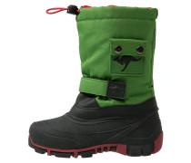 KANGABEAN Snowboot / Winterstiefel green/red