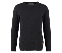 CARLO Strickpullover charcoal mel