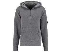 Kapuzenpullover grey sherpa/black