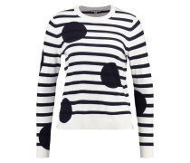 LIBERTY Strickpullover black cream