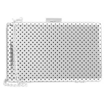 TEA AT THE RITZ Clutch silver