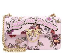 Umhängetasche rosa/bordeaux