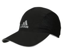 RUN Cap black/reflective silver