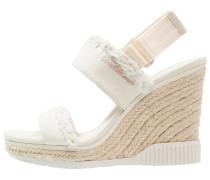 LAEL High Heel Sandaletten offwhite