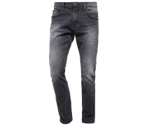 AEDAN Jeans Slim Fit black stone wash denim