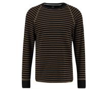 GStar JIRGI STRIPED R SW L/S Langarmshirt dark black/light berber stripe