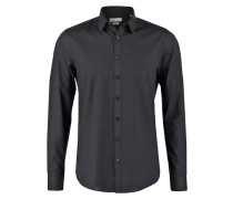 MARSEILLE SLIM FIT Businesshemd black