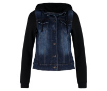 Jeansjacke dark blue & black