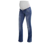MLUNEVEN - Jeans Bootcut - medium blue denim