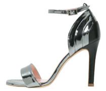 TARTA High Heel Sandaletten acero/negro
