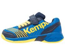 ATTACK - Handballschuh - deep blue/lime yellow