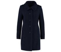 Wollmantel / klassischer Mantel deep blue