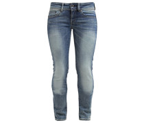 MIDGE SADDLE MID STRAIGHT - Jeans Straight Leg - maidu stretch denim