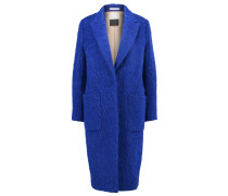 NULANIA Wollmantel / klassischer Mantel cobolt