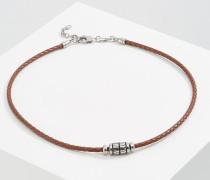 Halskette - hellbraun
