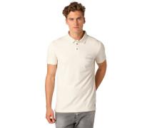 REGULAR FIT Poloshirt soft beige solid