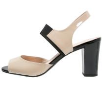 High Heel Sandaletten sand/black