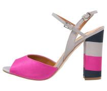 RAM High Heel Sandaletten pink